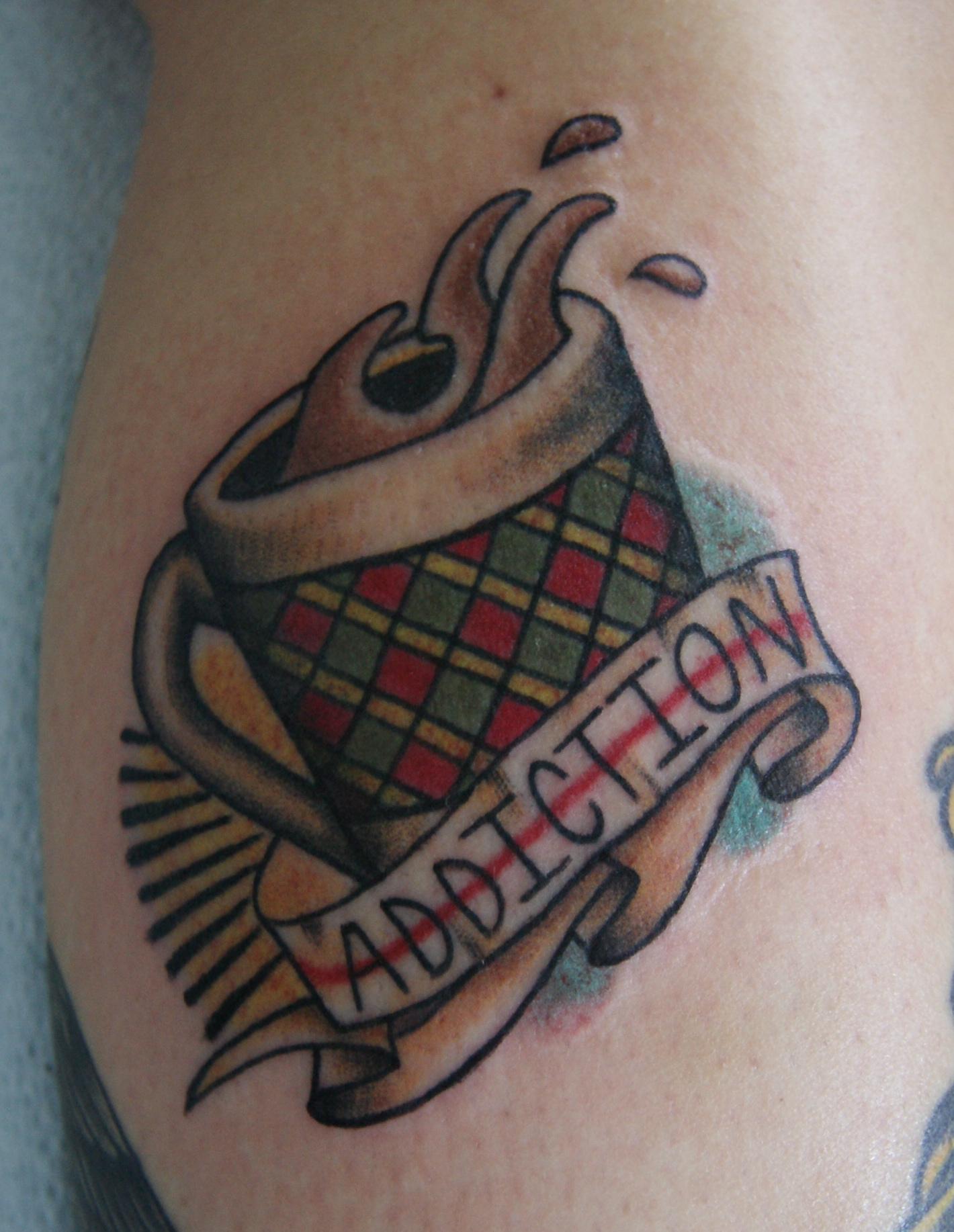 Coffee Mug Tattoo James Colceri
