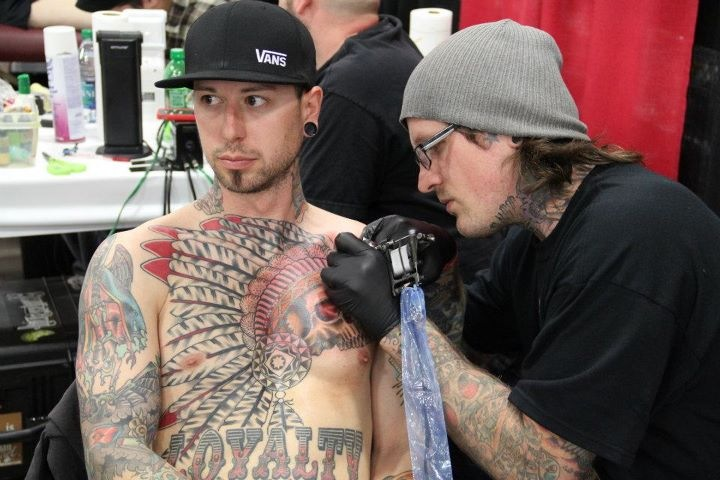 salt lake city tattoo convention | James Colceri